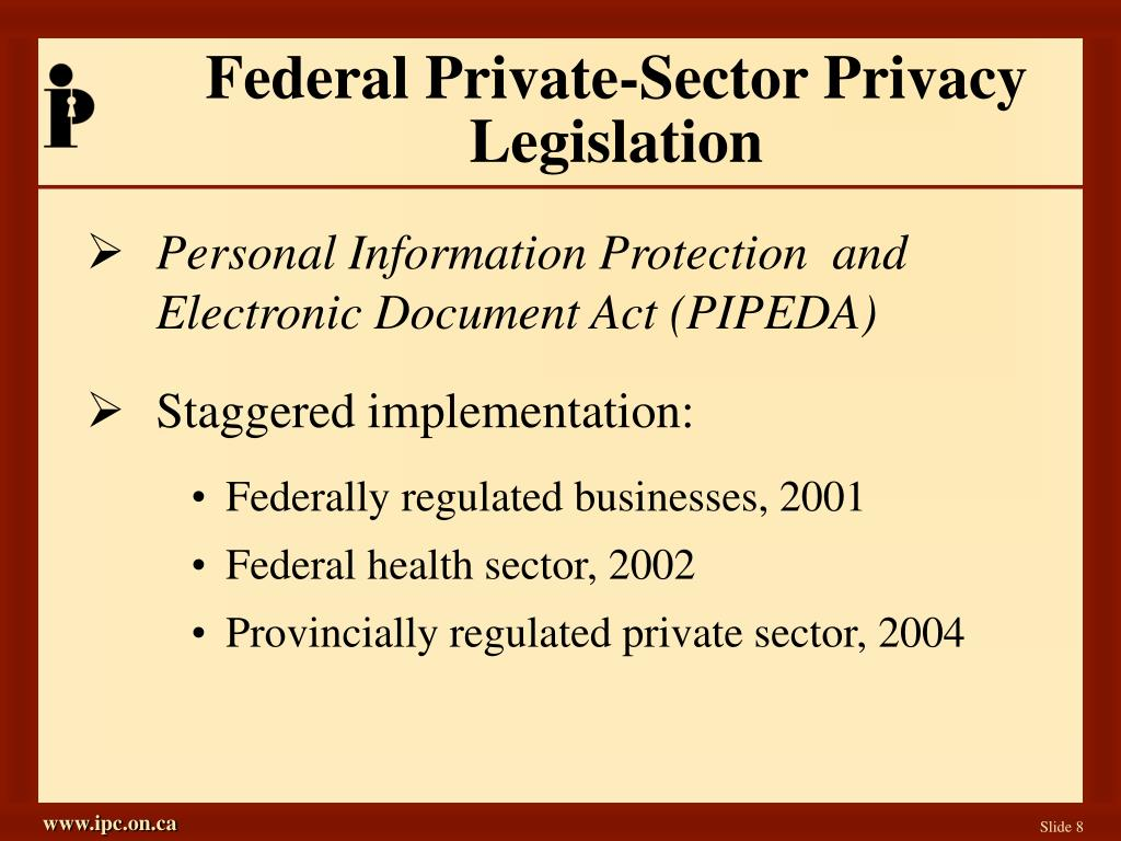 Federal Private-Sector Privacy Legislation