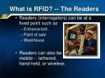 what is rfid the readers