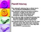plaintiff attorney