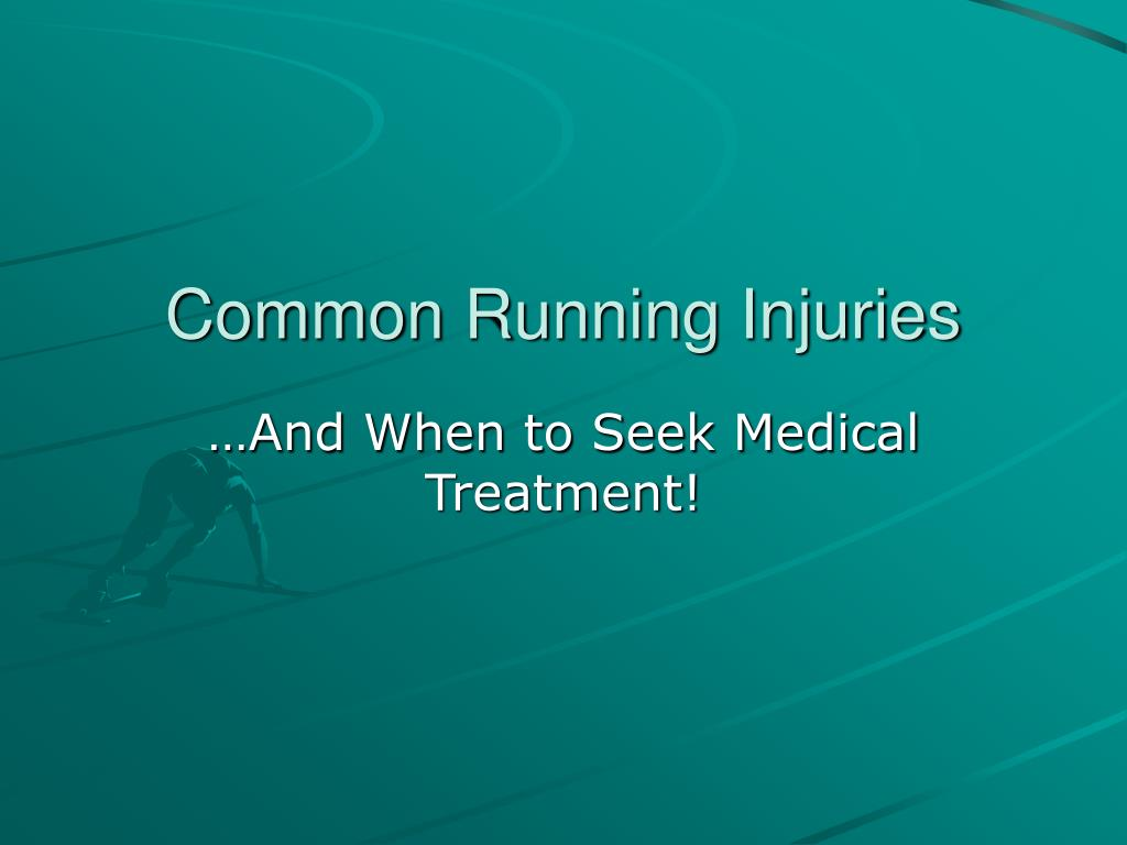 common running injuries l.