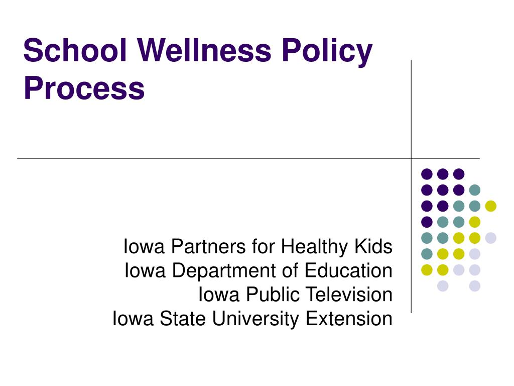 school wellness policy process l.