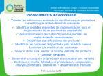 procedimiento de ecodise o