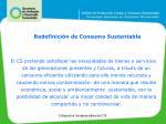 redefinici n de consumo sustentable