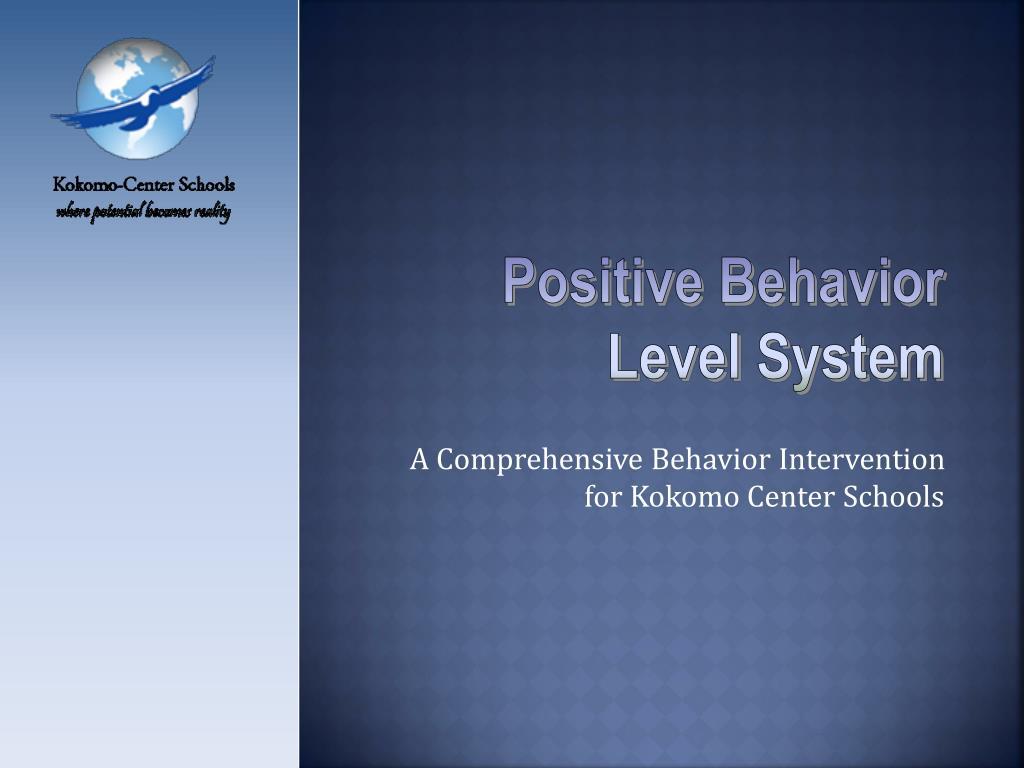 a comprehensive behavior intervention for kokomo center schools l.