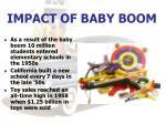 impact of baby boom