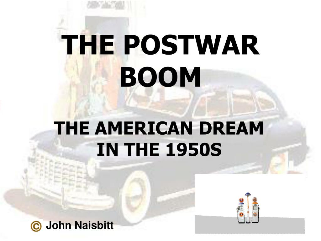the postwar boom l.