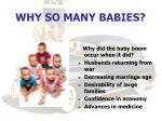 why so many babies