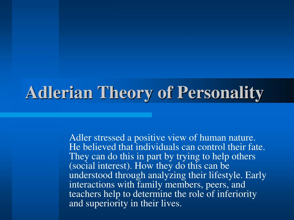 what is adlerian therapy used for