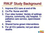 rwjf study background