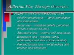 adlerian play therapy overview