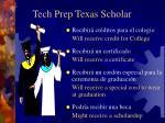 tech prep texas scholar