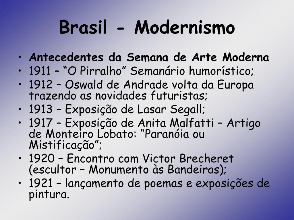 brasil modernismo l.