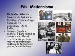 p s modernismo