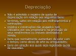 deprecia o7
