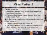 minor parties 2