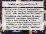 national conventions 1