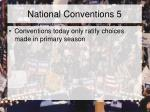 national conventions 5