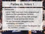 parties vs voters 1