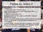 parties vs voters 2