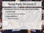 texas party structure 2