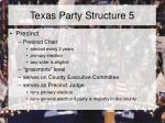 texas party structure 5
