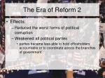 the era of reform 2