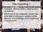 the founding 1