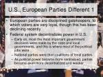 u s european parties different 1
