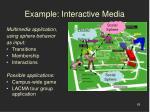 example interactive media68