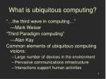 what is ubiquitous computing5