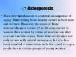 7 osteoporosis