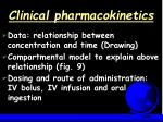 clinical pharmacokinetics58