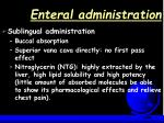 enteral administration19