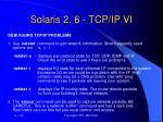 solaris 2 6 tcp ip vi