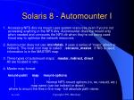 solaris 8 automounter i