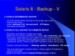 solaris 8 backup v