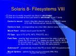 solaris 8 filesystems viii