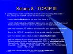 solaris 8 tcp ip iii