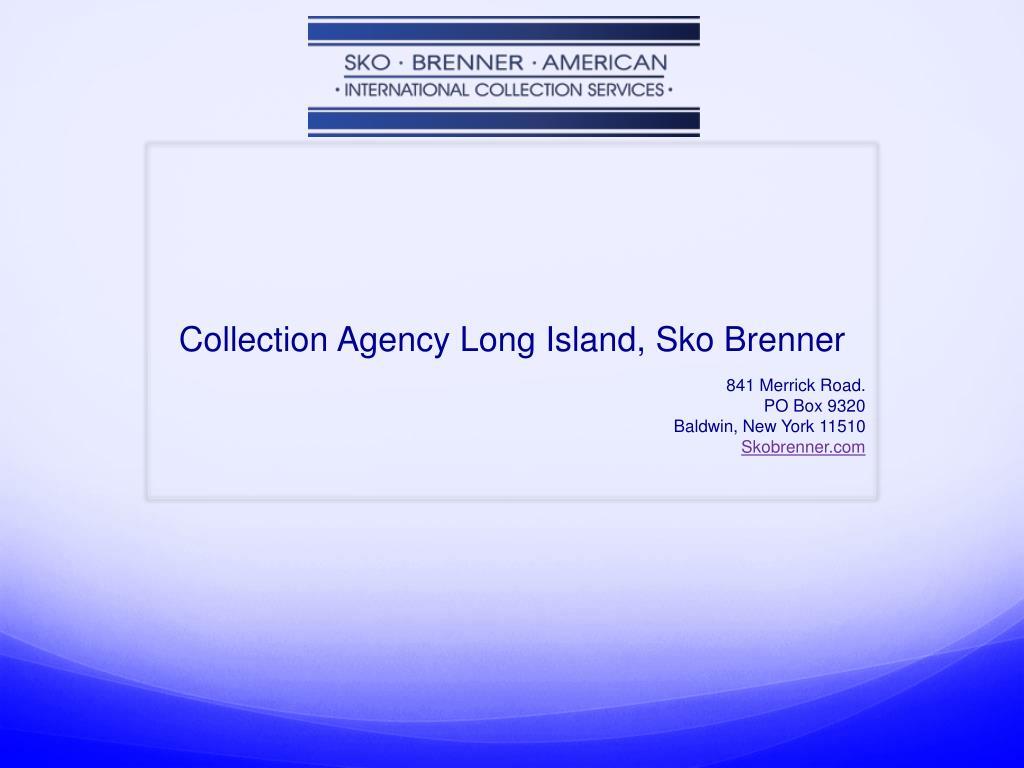 collection agency long island sko brenner l.