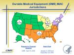 durable medical equipment dme mac jurisdictions