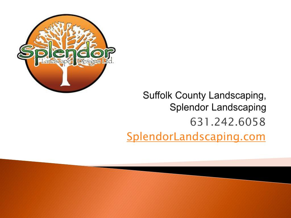 suffolk county landscaping splendor landscaping l.