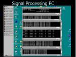 signal processing pc