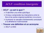 aclf condition mergente18