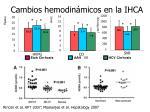 cambios hemodin micos en la ihca