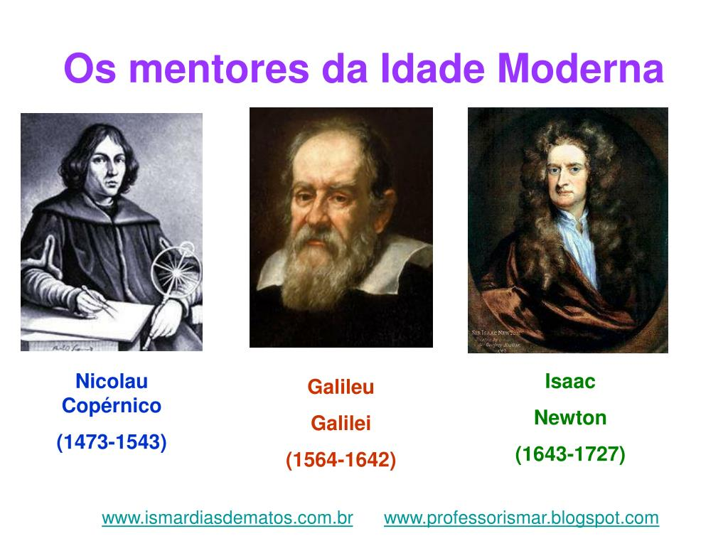 os mentores da idade moderna l.