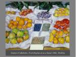gustave caillebotte fruit displayed on a stand 1882 30x40in