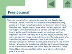 free journal17