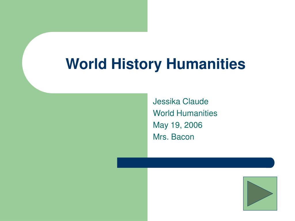 world history humanities l.