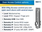 door access control options