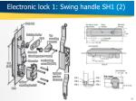 electronic lock 1 swing handle sh1 2